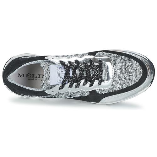 Meline AMAL Schwarz / Weiss / Grau  Schuhe Sneaker Sneaker Sneaker Low Damen 58,50 97d54b
