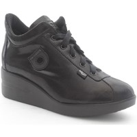 Schuhe Damen Derby-Schuhe Agile By Ruco Line 0226-82390 Sneaker Frau New spillo black New spillo black