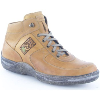 Schuhe Herren Boots Lion 8693 Sneaker Mann Leather Leather