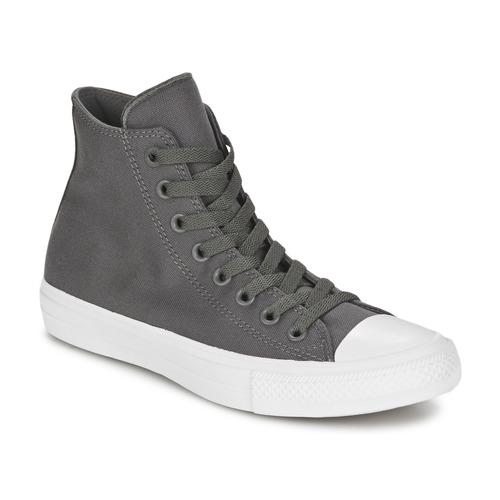 Schuhe Sneaker High Converse CHUCK TAYLOR All Star II HI Grau