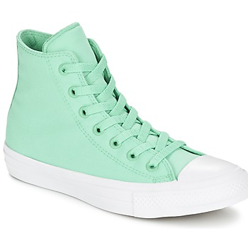 Schuhe Sneaker High Converse CHUCK TAYLOR All Star II NEON HI Grün