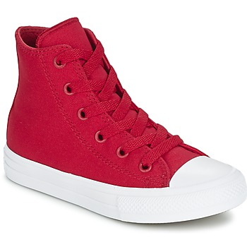 Schuhe Kinder Sneaker High Converse CHUCK TAYLOR All Star II HI Rot