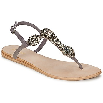 Schuhe Damen Sandalen / Sandaletten Betty London GRETA Grau