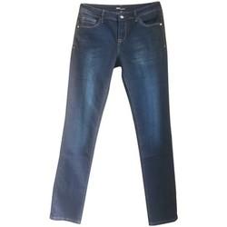 Kleidung Damen Straight Leg Jeans Dress Code Jean 15HP097 bleu Blau