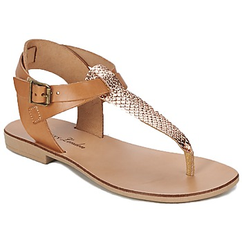 Schuhe Damen Sandalen / Sandaletten Betty London VITALLA Camel / Rose