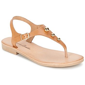 Schuhe Damen Sandalen / Sandaletten Betty London VITALLA Camel