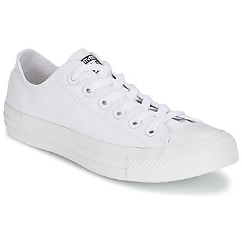 Schuhe Sneaker Low Converse CHUCK TAYLOR ALL STAR MONO OX Weiss
