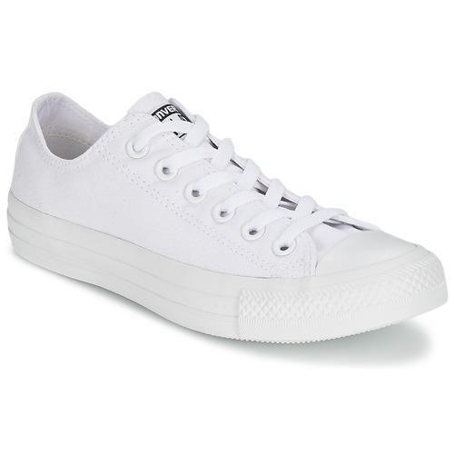 Schuhe Sneaker Low Converse CHUCK TAYLOR ALL STAR MONO OX Weiss