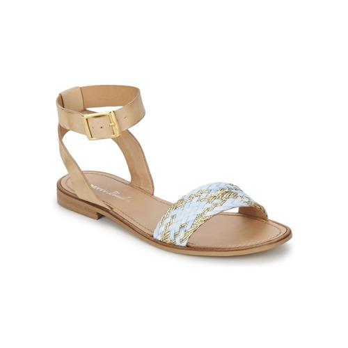 Schuhe Damen Sandalen / Sandaletten Betty London TRESSA Blau
