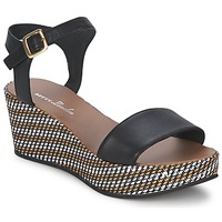 Schuhe Damen Sandalen / Sandaletten Betty London PRETA Schwarz