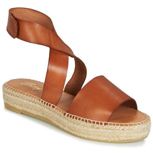 Betty London EBALUIE Camel  Schuhe Sandalen / Sandaletten Damen 47,99