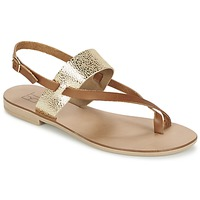 Schuhe Damen Sandalen / Sandaletten Betty London EVACI Camel / Goldfarben