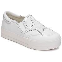 Schuhe Damen Slip on Ash JAGGER Weiss