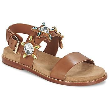 Schuhe Damen Sandalen / Sandaletten Ash MALIBU Camel