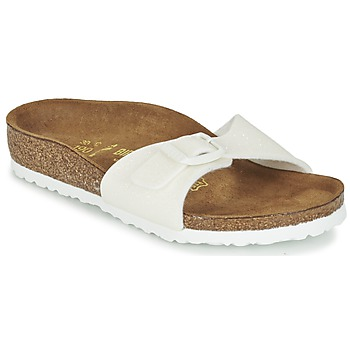 Schuhe Mädchen Pantoffel Birkenstock MADRID Weiss