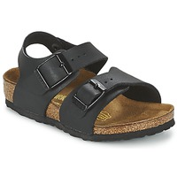 Schuhe Kinder Sandalen / Sandaletten Birkenstock NEW YORK Schwarz