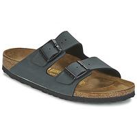 Schuhe Herren Pantoffel Birkenstock ARIZONA Grau