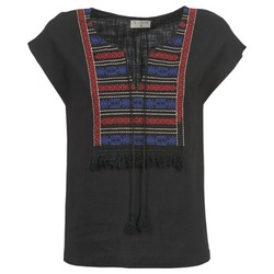 Kleidung Damen Tops / Blusen Betty London ETROBOLE Schwarz