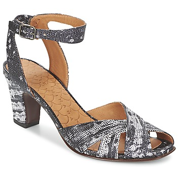 Schuhe Damen Sandalen / Sandaletten Chie Mihara HART Schwarz / Weiss