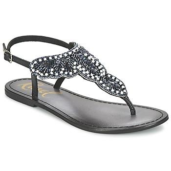 Schuhe Damen Sandalen / Sandaletten Ravel LANGLOIS Schwarz