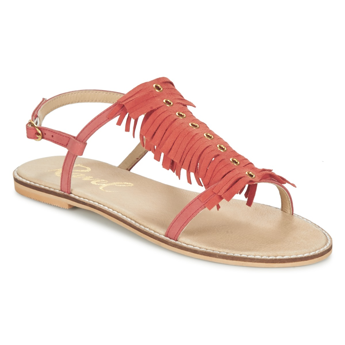 Ravel LEXINGTON Korallenrot - Kostenloser Versand bei Spartoode ! - Schuhe Sandalen / Sandaletten Damen 39,19 €