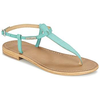 Schuhe Damen Sandalen / Sandaletten Les Tropéziennes par M Belarbi NARBUCK Türkis
