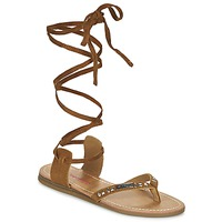 Schuhe Damen Sandalen / Sandaletten Les Tropéziennes par M Belarbi GALTANO Camel