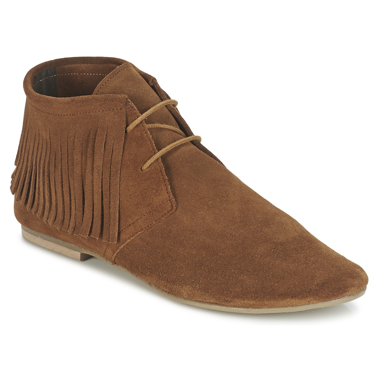 Betty London ELODALE Braun - Kostenloser Versand bei Spartoode ! - Schuhe Boots Damen 44,99 €