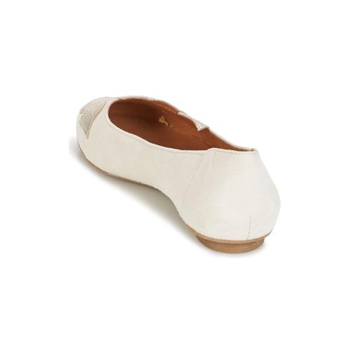 Betty London ERUNE Weiss Damen / Silbern  Schuhe Ballerinas Damen Weiss 52,50 733101