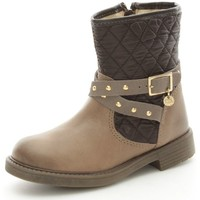 Schuhe Mädchen Low Boots Melania 2115 Stiefeletten Kind Taupe Taupe