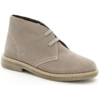 Schuhe Kinder Boots Asso 30500 Schnürschuhe Baby Taupe Taupe