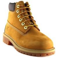 Schuhe Herren Boots Timberland 6IN PREM WHEAT Beige