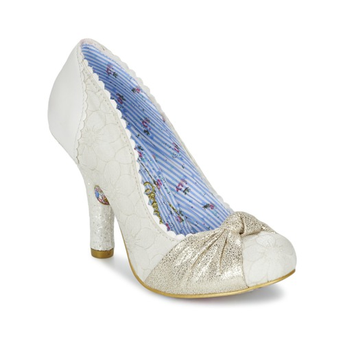 Irregular Choice SMARTIE PANTS Weiss    Schuhe Pumps Damen 178153