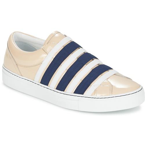 Sonia Rykiel SONIA BY - SLIPPINETTE Beige / Marine Schuhe Slip on Damen 159,50