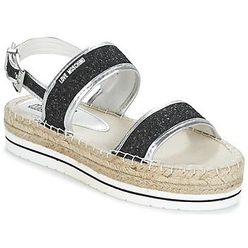 Schuhe Damen Sandalen / Sandaletten Love Moschino SIMONA Schwarz