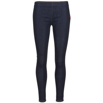 Kleidung Damen Slim Fit Jeans Love Moschino ERICACE Blau