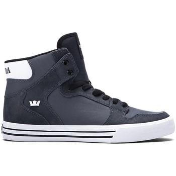 Schuhe Herren Sneaker High Supra Chaussures  Vaider Charcoal h15 - Gris