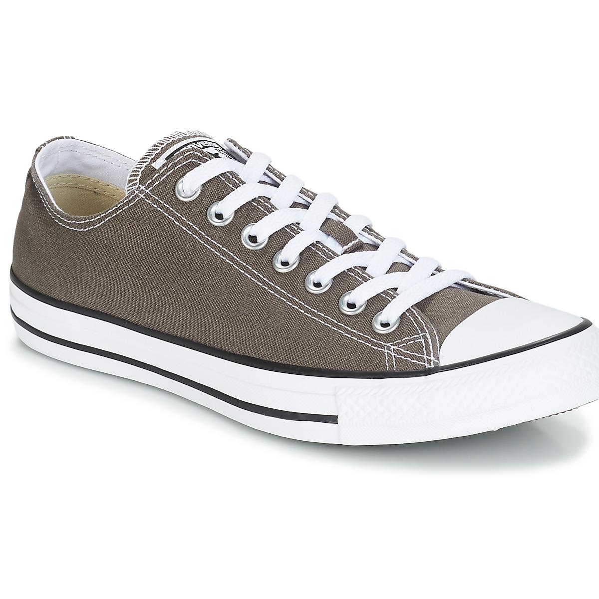 Converse CHUCK TAYLOR ALL STAR SEAS OX Anthrazit - Kostenloser Versand bei Spartoode ! - Schuhe Sneaker Low  51,99 €