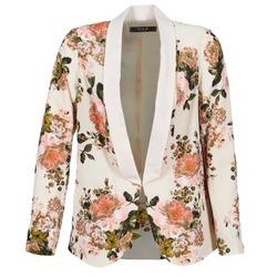 Kleidung Damen Jacken / Blazers Vila VIFLOURISH BLAZER Beige