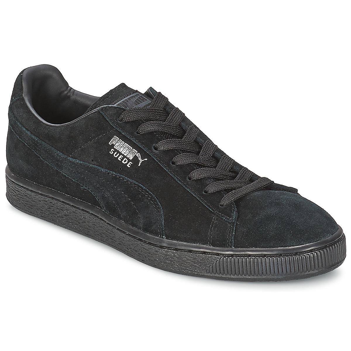 7737bfc5623a ... Puma SUEDE CLASSIC Schwarz   Grau - Kostenloser Versand bei Sneaker  Spartoode ! - Schuhe Sneaker