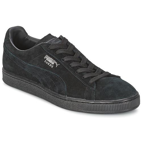 Sneaker Puma SUEDE CLASSIC Schwarz / Grau 350x350