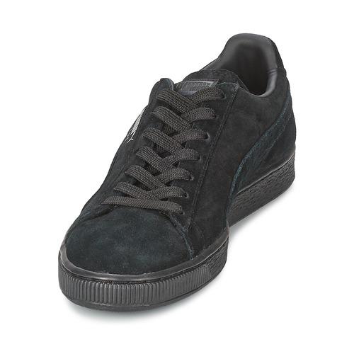 Puma SUEDE CLASSIC Schwarz / Grau  Schuhe Sneaker Low  84,99