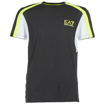 Kleidung Herren T-Shirts Emporio Armani EA7 VENTUS7 Schwarz