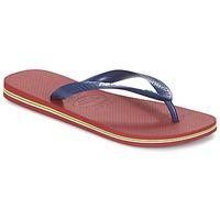 Schuhe Zehensandalen Havaianas BRASIL LOGO Marine / Rot