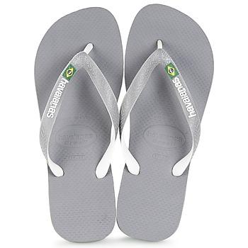 Schuhe Zehensandalen Havaianas BRASIL MIX Grau