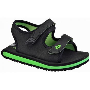 Schuhe Kinder Sandalen / Sandaletten Invicta Sea Klett sandale Schwarz