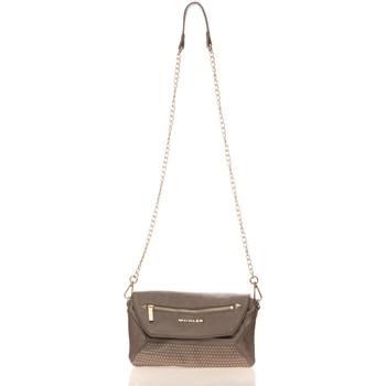 Taschen Damen Geldtasche / Handtasche Thierry Mugler Sac Folie 3 Argent Grau