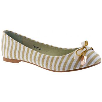 Schuhe Damen Ballerinas F. Milano Scharnier ballet ballerinas