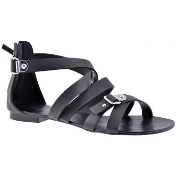 Schuhe Damen Sandalen / Sandaletten F. Milano Sklavesandale Schwarz