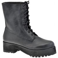 Schuhe Damen Boots F. Milano Amphibien-Plattform bergschuhe